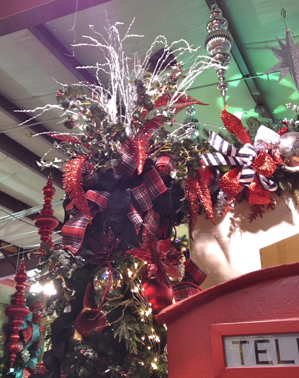 Real Christmas Tree Decorating Ideas